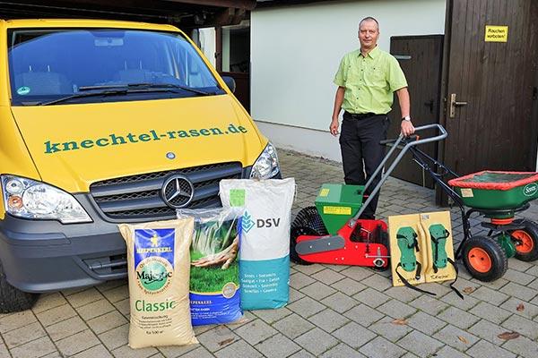 Torsten Knechtel Freier Handelsvertreter für Rollrasen